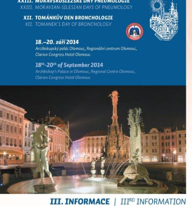 Peptest demonstrated at the Czech Pneumology Congress