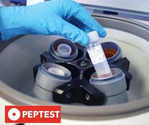 Peptest centrifuge