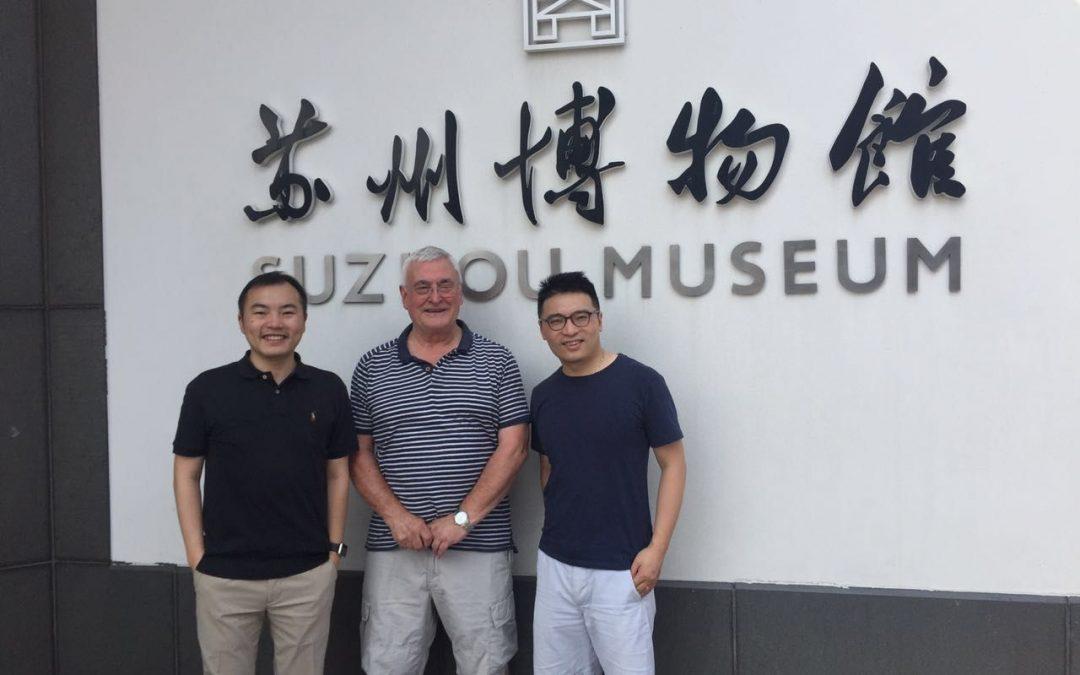 Professor Peter Dettmar in China Peptest