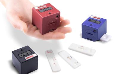 Peptest Cube: measuring Pepsin levels in saliva