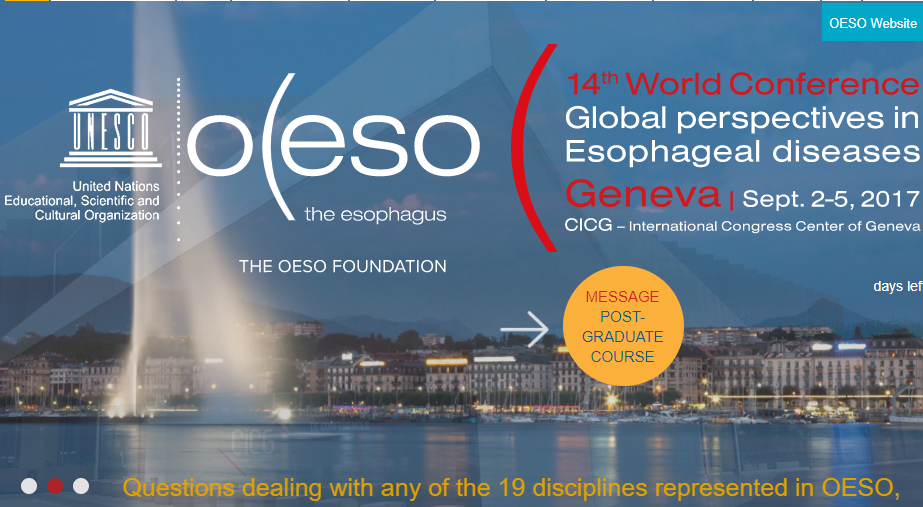 Professor Dettmar presents Peptest at OESO 2017