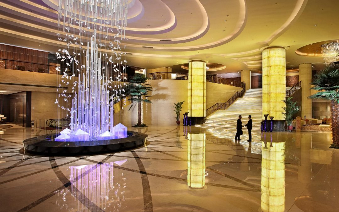 Crowne Plaza Sea View hotel in Yantai, China