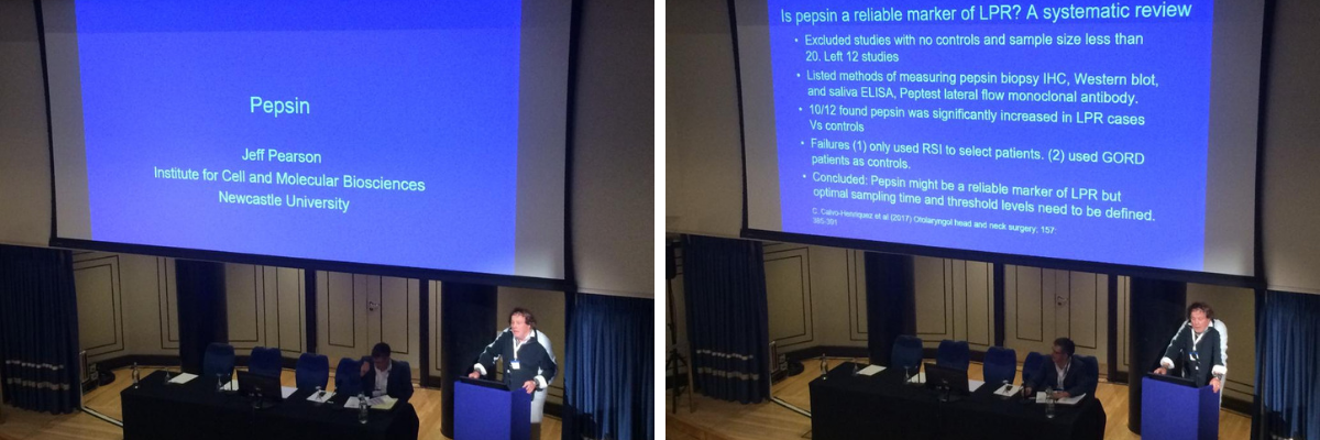 presentation on pepsin by Professor Jeff Pearson